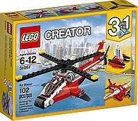 LEGO оригинал 3 в 1 вертолет -самолет  - катамаран  Creator Propeller Plane 31057