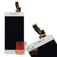 Модуль для Meizu M3s Y685Q (Дисплей + тачскрин) белый оригинал PRC