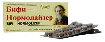 Бифи-Нормолайзер 60таб.по 0.5г. Россия