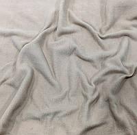 Флис бежевый однотонный 50х50 см