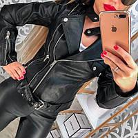 Куртка черная с замками