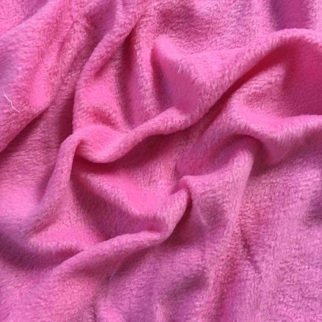 Флис розовый однотонный 50х50 см