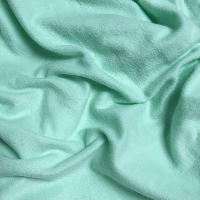 Флис мятный однотонный 50х50 см