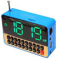 Часы, будильник, радиоприемник, портативная колонка, МР3 плеер WS-1513