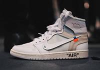 Кроссовки OFF WHITE x Air Jordan 1