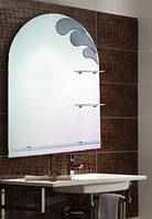 Зеркало для ванной комнаты 600х800 мм Ф171