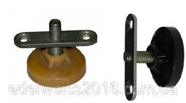 Ножка мебельная регулируемая d=6 мм с планкой