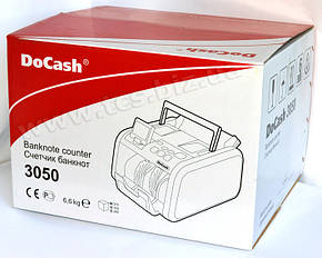 DoCash 3050 SD/UV Счетчик банкнот, купюр, фото 2