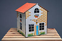 Іграшковий будинок з комплектом меблів, фото 1