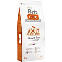 Корм Brit Care Adult Medium Breed Lamb & Rice
