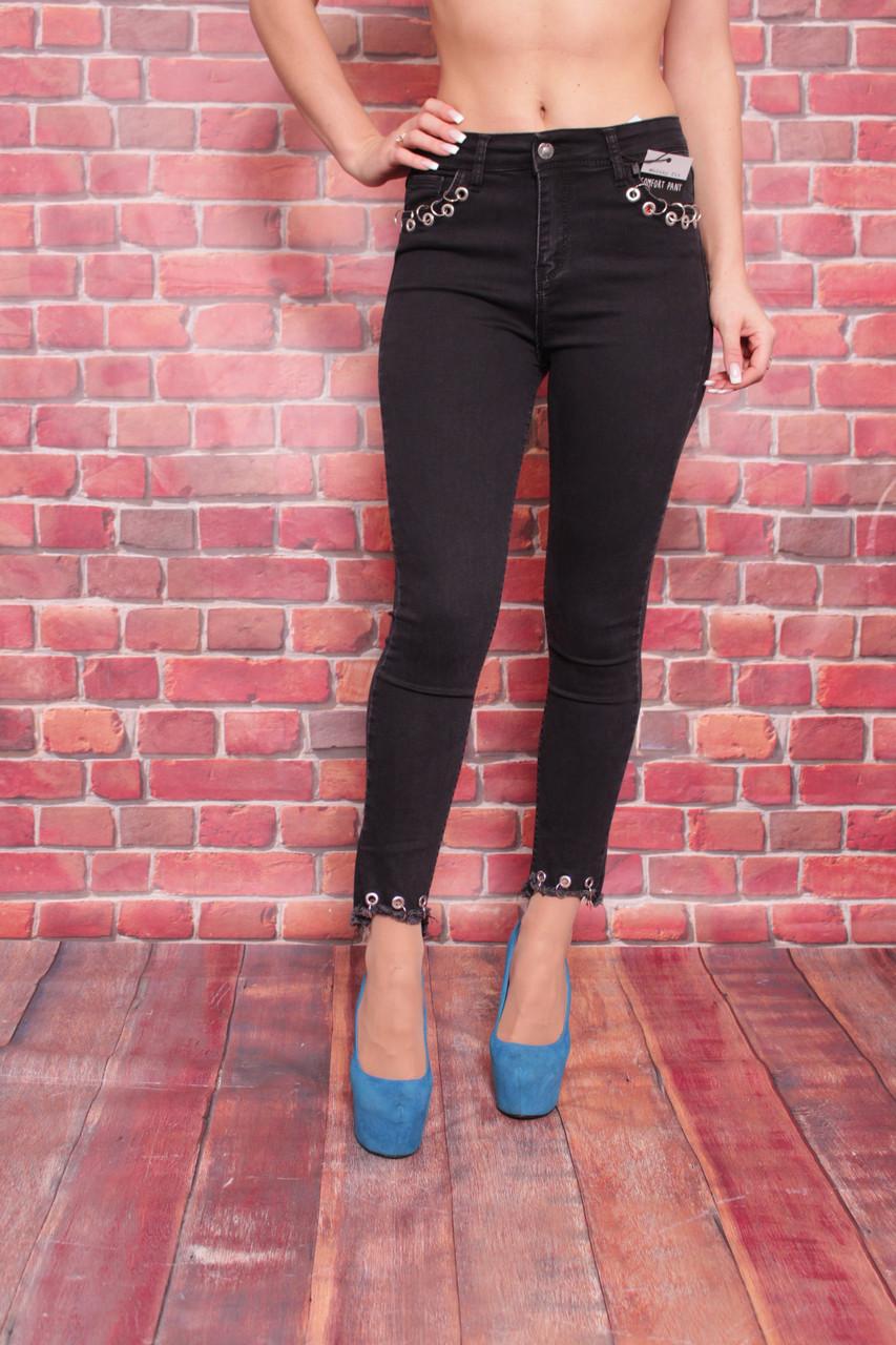 b311a15a084 Женские джинсы с завышенной талией Hepyek(код 501-3476) 26-31 размеры.