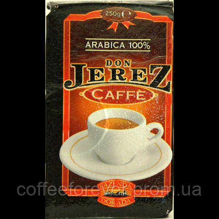 Don Jerez Arabica 100 % - натуральна мелена кава, 250 грам, фото 2