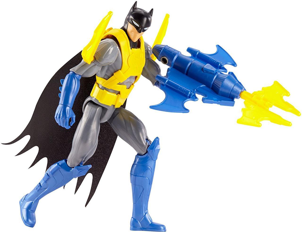 "DC Justice Лига Справедливости Бэтмен League Action Wing Tech Batman Figure with Accessory 12"""