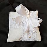 Подушечка для крестика , платочки для свечей, фото 3