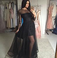 Нежное фатиновое платье , фото 1