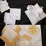 Подушечка для крестика , платочки для свечей, фото 2