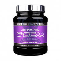 Scitec Nutrition G-BCAA БЦАА аминокислоты для роста мышц восстановления спортивное питание
