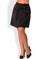 Черная юбка-шорты 1241