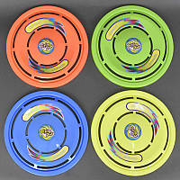 Летающая тарелка 3399 (360/2) 4 цвета, в сетке