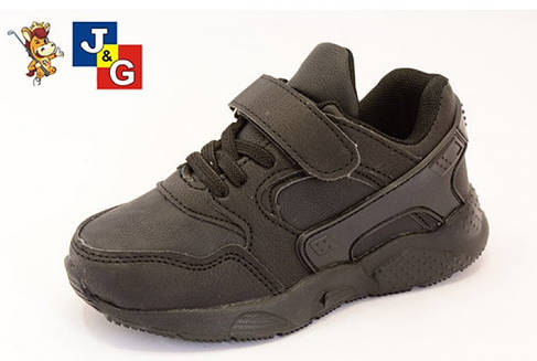 27-29 рр Детские кроссовки на липучках для девочки и мальчика в стиле Nike Huarache, фото 2