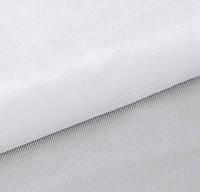 Фатин Белый средней жесткости Тюль (сетка) металлик блеск 3 метра ширина