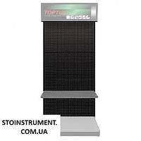 Стенд выставочный часть1 (панель, цвет черный)  TOPTUL TDAD2192