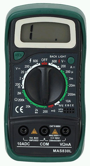 Цифровой мультиметр DT-838 L