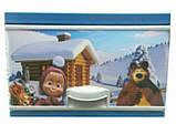 Комод пластиковый Еlif, с рисунком Маша и медведь зимой. Производство Турция., фото 6