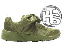 Женские кроссовки Puma Fenty by Rihanna Bow Sneakers Olive Green 365054-04