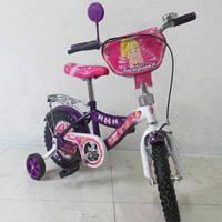 "Велосипед TILLY Балеринка 12"" T-21225 purple + white /1/"