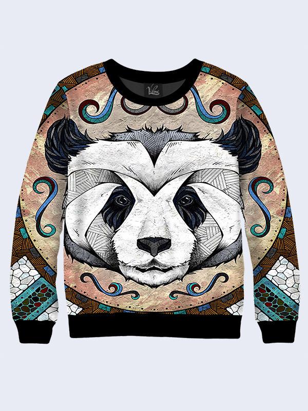 Женский свитшот Панда рисунок