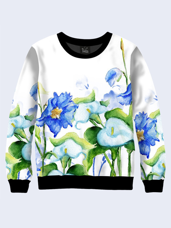 Женский свитшот Watercolor flowers