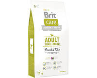 Корм Brit Care Adult Small Breed Lamb & Rice