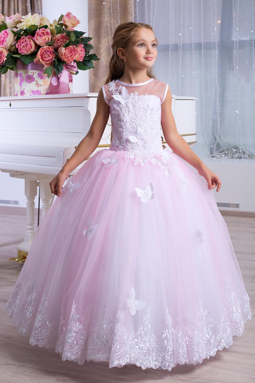 d5ceb6bd428 Платье выпускное детское нарядное D971 - МОЙ МИР - товары для детей