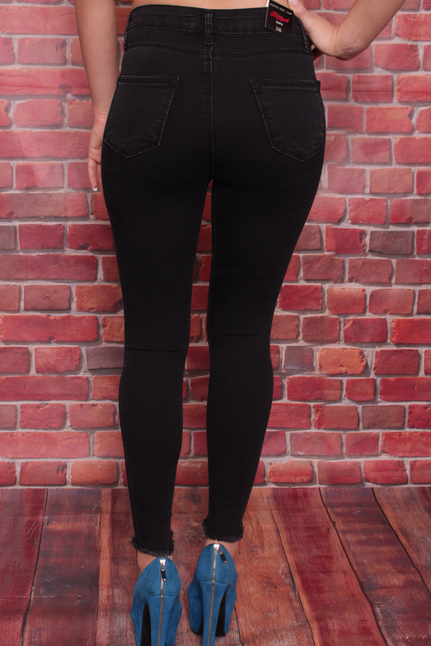 5258f5f8cf0b6 ... Женские джинсы американка с кошкой на коленках Hepyek ( код 501)  26-31разм, ...