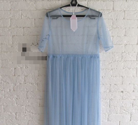 Сукня з повітряного фатину