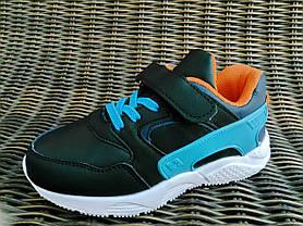 29р - 31р Детские кроссовки на липучках для девочки и мальчика в стиле Nike Huarache, фото 2