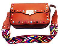 Женская сумка Michaei Kors Артикул 5-16 рыжая