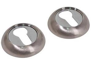 Накладка под цилиндр Comit CMRY-59 хром/матовый никель