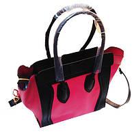Женская сумка Valentino Артикул 5-19-19 малиновая