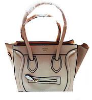 Женская сумка Valentino Артикул 5-19-19 бежевая