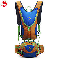 Рюкзак для гидратора  с сумкой на пояс синий, фото 1
