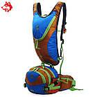 Рюкзак для гидратора  с сумкой на пояс зеленый, фото 2