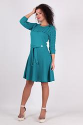 Трикотажное легкое платье - Солнышко