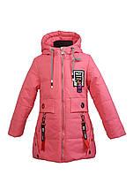 Куртка для девочки  8767 весна-осень, размеры на рост от 110 до 134 возраст от 5 до 9 лет