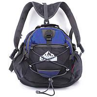 Сумка на пояс - рюкзак Jungle King синяя
