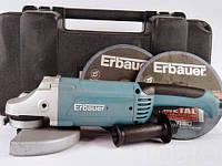 Угловая шлифовальная машина Erbauer ERB371GRD