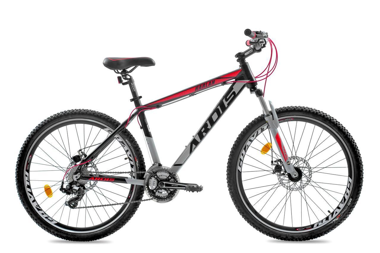 """Горный велосипед ARDIS HARLAN 27,5"""" 18""""  Черный/Красный"""
