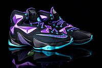 Мужские кроссовки  Nike  Lebroon леброн- Текстиль,подошва  пена,р:42-46 фабр. Китай Топ качество(копия - ААА+, фото 1