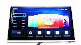 "LCD LED Телевизор JPE 32"" Изогнутый Smart TV, WiFi, 1Gb Ram, 4Gb Rom, T2, USB/SD, HDMI, VGA, Android 4.4 , фото 3"